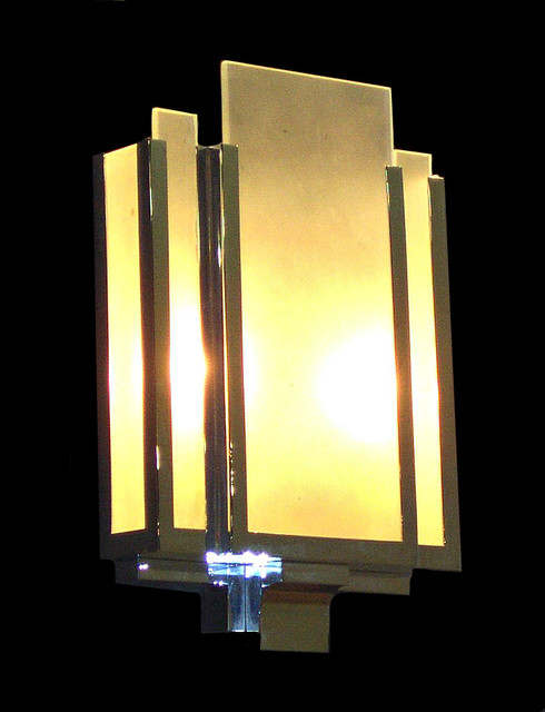 Art Deco / Modern Lighting - Claridge s wall light - Modern - Wall Sconces - south east - by ...