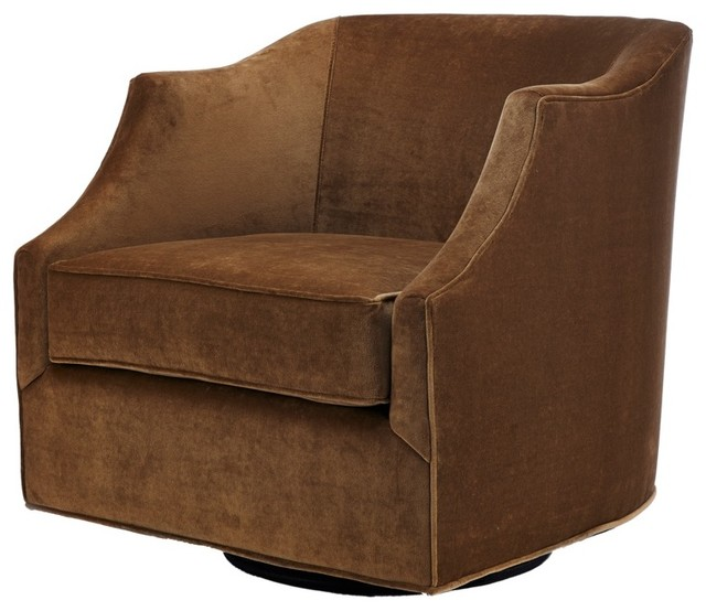 Diller swivel chair traditional armchairs and accent for Chair design toronto
