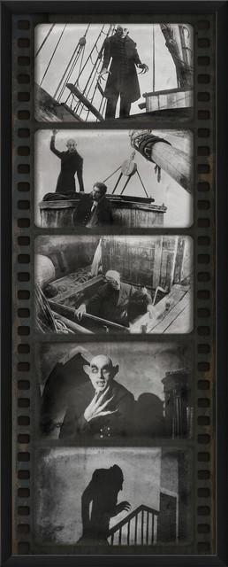 'Film Strip Nosfaratu' Print contemporary-prints-and-posters