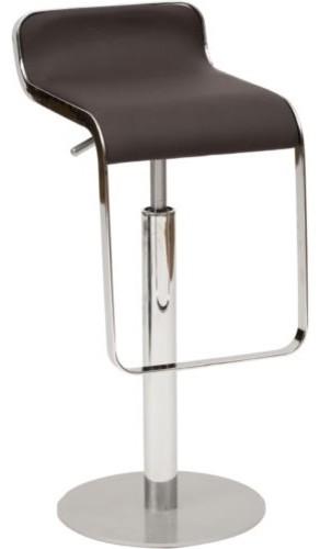 Equino Barstool, Espresso contemporary-bar-stools-and-counter-stools