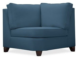 Cameron Roll Upholstered Upholstered Wedge, Polyester Wrap Cushions, Brushed Can traditional-sofas
