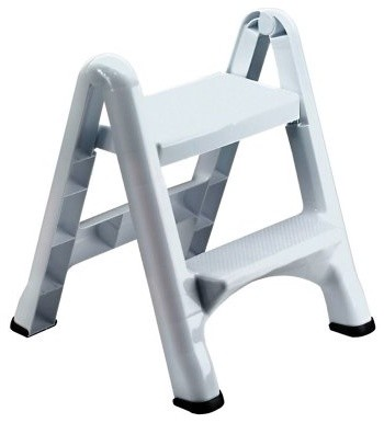 Rubbermaid 2 Step Folding Step Stool modern-footstools-and-ottomans