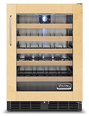 "Viking 24"" Undercounter Wine Cellar, Custom Panel Right Hinge | FWCI1240GR refrigerators-and-freezers"