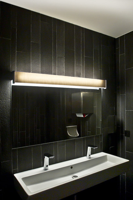 Continua by marset contemporary bathroom vanity lighting los angeles by light - Contemporary bathroom light fixtures install ...