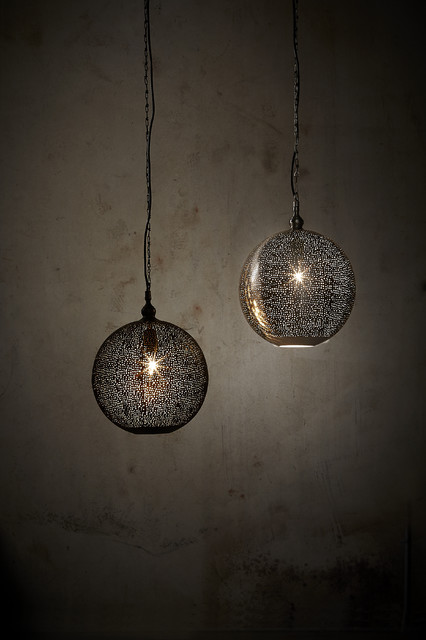 Silver Galaxy Collection contemporary-ceiling-lighting
