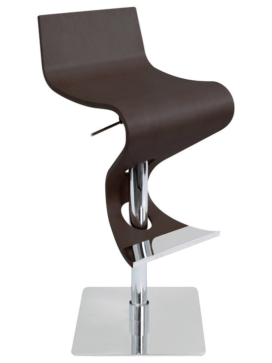 Viva Bar Stool - WENGE WOOD