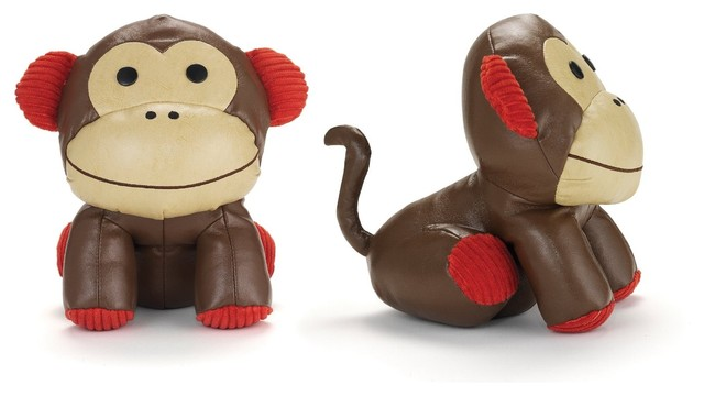 Skip Hop Set of 2 Zoo Bookends, Monkey eclectic-bookends