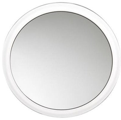 Magnifying Mirror with Suction Cups contemporary-wall-mirrors