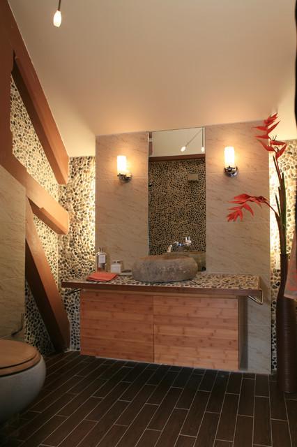 LA Signature Projects eclectic-bathroom