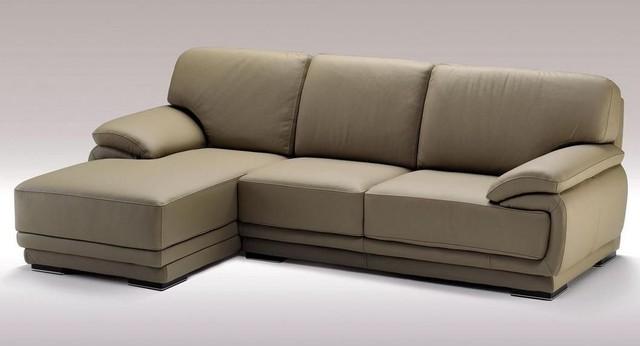 L Shape Sofa : Fashionable Corner Sectional L-shape Sofa contemporary-sectional-sofas