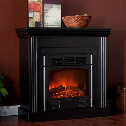 Bastrop Wall Or Corner Electric Fireplace In Black 37 036 023 0 01 Traditional Indoor