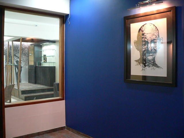 Dilip  Residence eclectic-hall