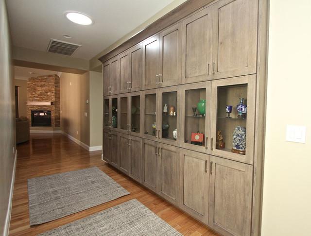 Oak contemporary-kitchen-cabinetry