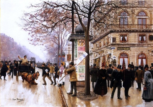 Jean-Georges Béraud  Traditional-artwork