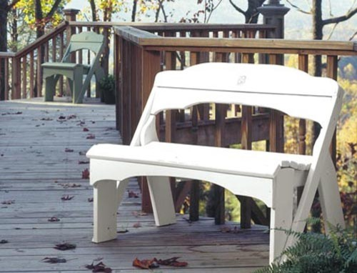 Seaside Picnic Bench traditional outdoor stools and benches