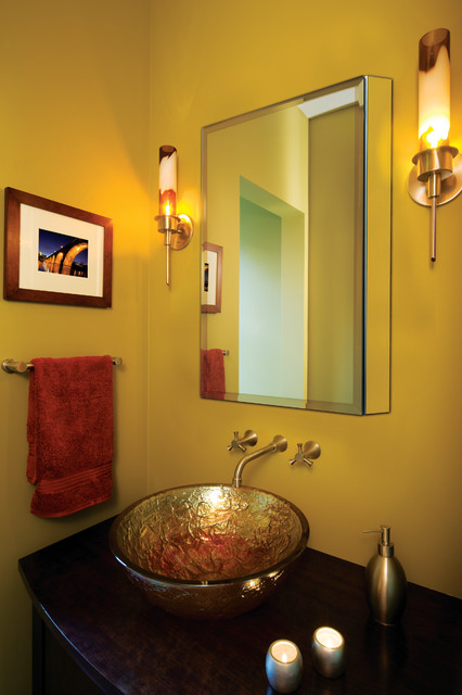 Frameless Beveled Mirror Medicine Cabinet by GlassCrafters Inc ...