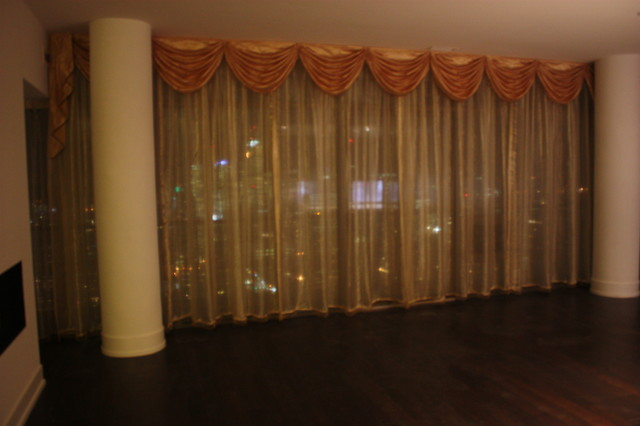 Vertical Sheer Curtains traditional-curtains