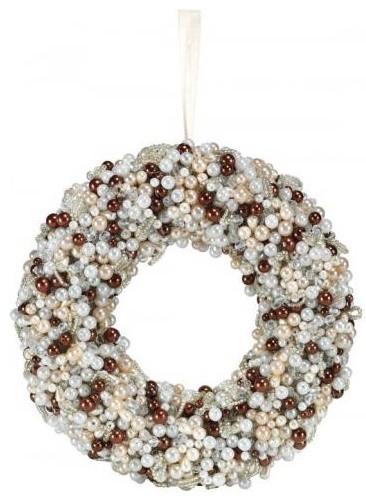 Pearl Wreath modern-wreaths-and-garlands