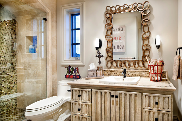 Dallas/Ft Worth eclectic-bathroom