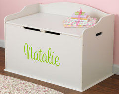 Personalized Austin Toy Box in Vanilla modern-baby-toys