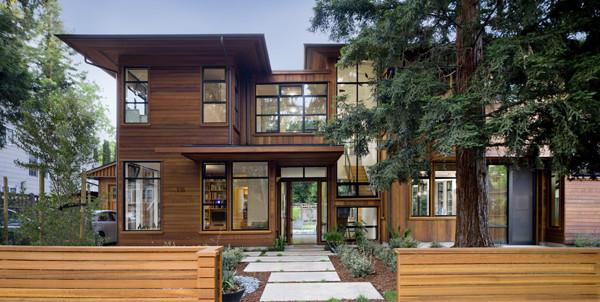 Palo alto residence modern exterior san francisco for Alto design architects