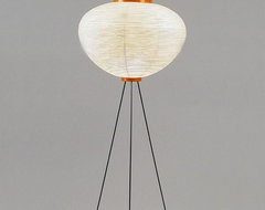 Akari Model 10A Floor Lamp by Isamu Noguchi modern-floor-lamps