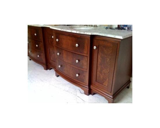 custom vanities -