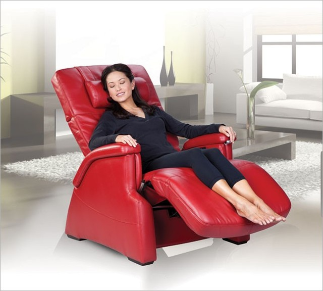 PC-086 Perfect Chair® Serenity® Power Zero-Gravity Recliner by Human Touch modern