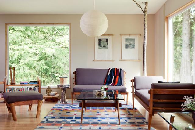 Future Primitive Love Seat contemporary-love-seats