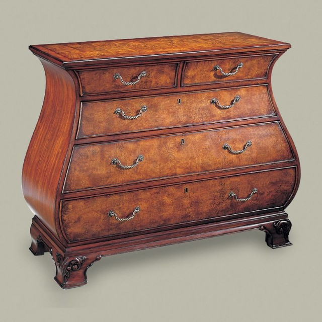 Townhouse bombe chest - Traditional - Accent Chests And Cabinets - other metro - by Ethan Allen