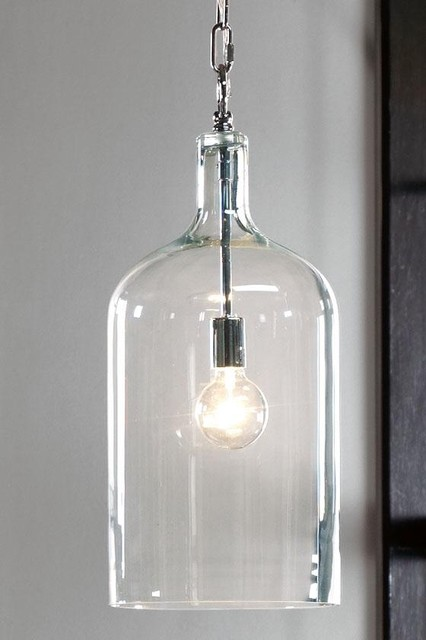 Capri 1 Light Pendant Contemporary Pendant Lighting