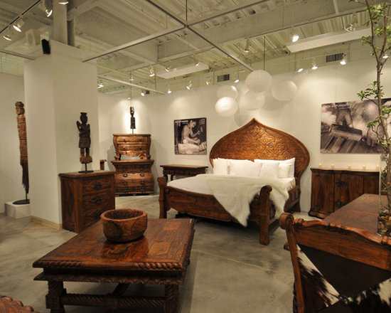 """Jason Scott - The """"Jason Scott Collection"""" was born in a small village in Java, Indonesia. These exquisite works of reclaimed teak are salvaged from abandoned structures and handcrafted using a unique ten step process of wire brushing, scraping with broken glass, burning, waxing, rubbing with empty bottles, and state-of-the-art kiln drying. With his team of over two-hundred craftsmen, Jason Scott creates beautiful, quality heirloom pieces of furniture"""