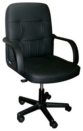 High-Back Office Chair with Arms modern-home-office-products