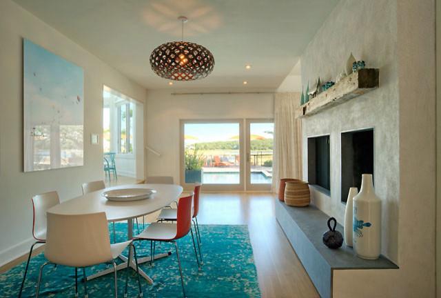 David Howell Design modern-dining-room