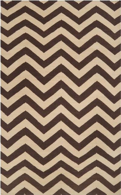 Zig Zag Stripe Rug rugs