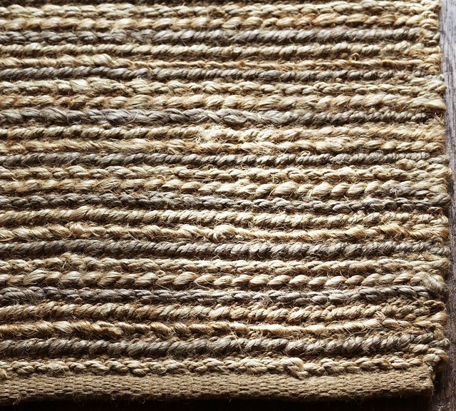 Linen Jute Rug Traditional Rugs By Pottery Barn