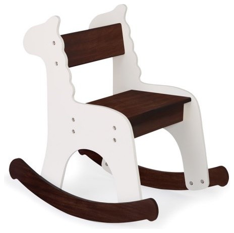 Pkolino Cafe con Leche Zebra Rocking Chair eclectic kids chairs