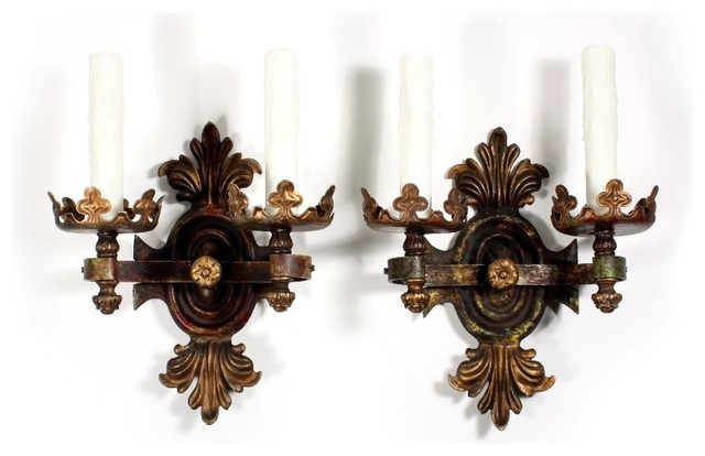 Antique Gothic Wall Sconces : Antique Gothic Revival Lighting - Traditional - Wall Sconces - nashville - by Preservation Station
