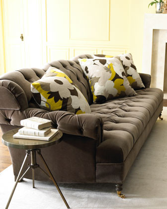 Haute House Berlin Velvet Sofa traditional sofas