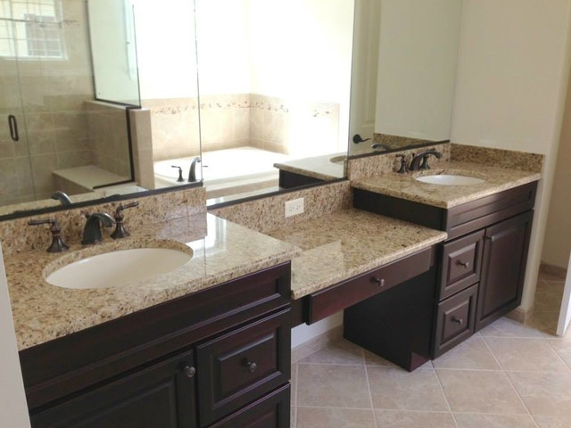 Bathroom countertops vanity tops and side splashes for Bathroom countertops