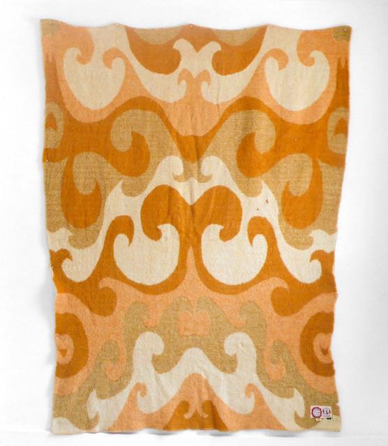 Vintage Wool Blanket by Hindsvik modern-throws