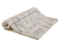 Asian Statuary Marble Tile contemporary-tile