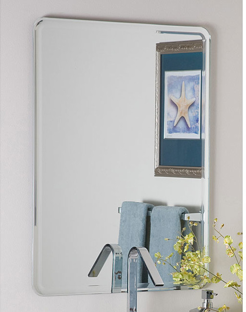 Samson Frameless Mirror Contemporary Wall