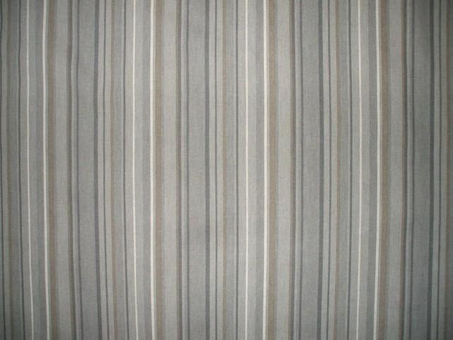 72 Shower Curtain Unlined Premier Stripe Grey Beige