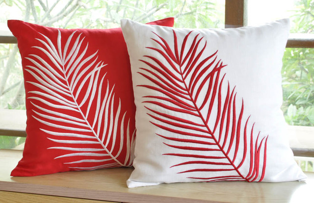 Modern Holiday Pillow Covers - Modern - Decorative Pillows - other metro - by KainKain