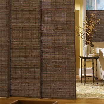 Bali Woven Wood Sliding Panels - Contemporary - Vertical Blinds - by Blindsgalore