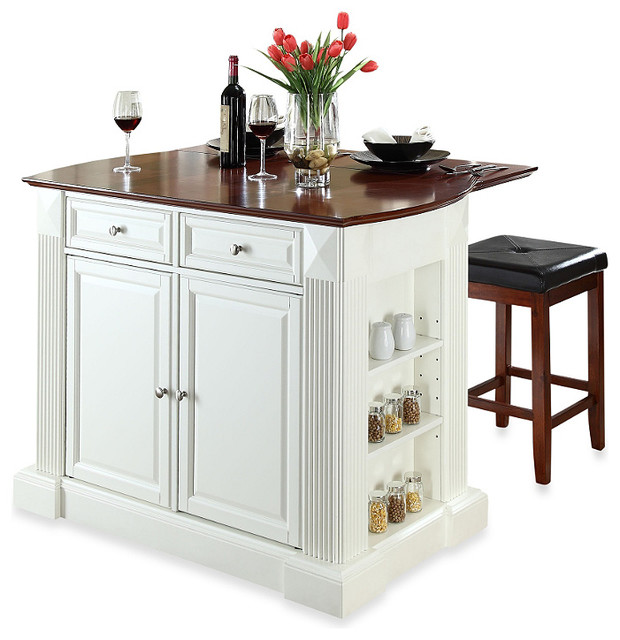 stool contemporary kitchen islands and kitchen carts by bed bath