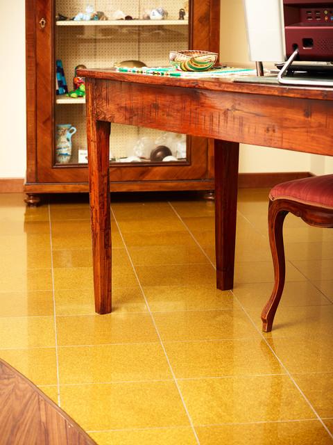 Gold Glitter contemporary-floor-tiles