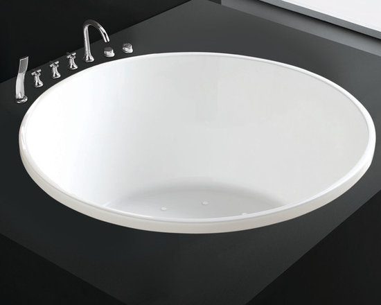 "Amazing Tubs - 55"" Montange Acrylic Drop-In Air Bath Tub, Signature Hardware"