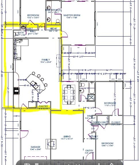 Going crazy over kitchen family room layout for Room layout help